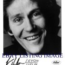 LEVON HELM AUTOGRAPHED 8x10 RP PUBLICITY PHOTO THE BAND