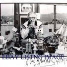 RAY BRADBURY AUTOGRAPHED 8x10 RP PHOTO WITH ALL HIS PROPS