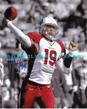 JOHN SKELTON AUTOGRAPHED 8x10 RP PHOTO ARIZONA CARDINALS QB