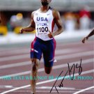 TYSON GAY AUTOGRAPHED 8x10 RP PHOTO TEAM USA TRACK AND FIELD