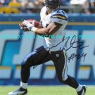 RYAN MATHEWS AUTOGRAPHED 8x10 RP PHOTO SAN DIEGO CHARGERS RB MATTHEWS