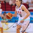DIANA TAURASI SIGNED AUTOGRAPHED 8x10 RP PHOTO TEAM USA BASKETBALL TUARASI GOLD MEDALIS