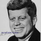JOHN F KENNEDY AUTOGRAPHED 8x10 RP PHOTO USA PRESIDENT JFK 1960 CAMPAIGN PICTURE