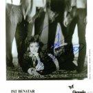 PAT BENATAR AUTOGRAPHED 8x10 RP STUDIO PUBLICITY PROMO PHOTO HEARTBREAKER