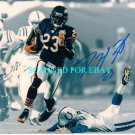 DEVIN HESTER AUTOGRAPHED 8x10 RP PHOTO CHICAGO BEARS KICK RETURN FOR TD AWESOME