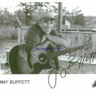 JIMMY BUFFETT AUTOGRAPHED 8X10 RP PHOTO CHEESEBURGER IN PARADISE