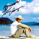 KENNY CHESNEY SIGNED AUTOGRAPHED AUTOGRAPH 8x10 PHOTO BEAUTIFUL ISLANDS PICTURE