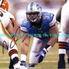NDAMUKONG SUH AUTOGRAPHED 8x10 RP PHOTO DETROIT LIONS