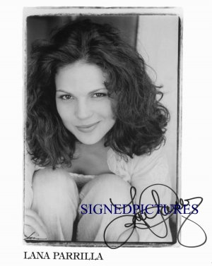 LANA PARRILLA SIGNED AUTOGRAPHED 8x10 PHOTO ONCE UPON A TIME