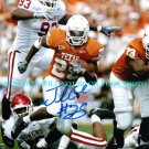 JAMAAL CHARLES AUTOGRAPHED 8x10 RP PHOTO TEXAS KANSAS CITY CHIEFS