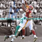 FRED DAVIS AUTOGRAPHED 8x10 RP PHOTO WASHINGTON REDSKINS
