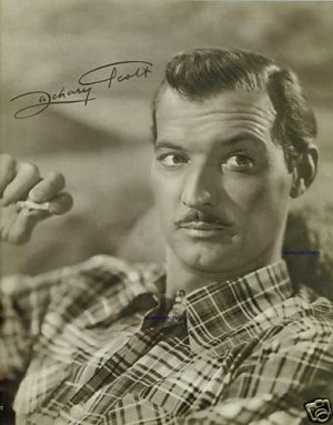 ZACHARY SCOTT AUTOGRAPHED 8x10 RP MAGAZINE PHOTO