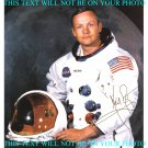 NEIL ARMSTRONG SIGNED RP PHOTO NASA APOLLO 11 MOON WALK