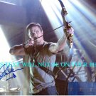 STEPHEN AMELL AUTOGRAPHED 8x10 RP PHOTO ARROW SMALLVILLE