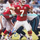 MATT CASSEL AUTOGRAPHED 8x10 RP PHOTO KANSAS CITY CHIEFS QB