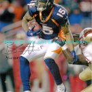 BRANDON MARSHALL AUTOGRAPHED 8x10 RP PHOTO DENVER THE BEAST