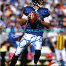JOE FLACCO AUTOGRAPHED 8x10 RP PHOTO BALTIMORE RAVENS  CHECK OUT THE PINK SHOES
