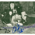 BATMAN AND ROBIN CAST AUTOGRAPHED RP PHOTO LEE MERIWETHER MEREDITH FRANK GORSHIN