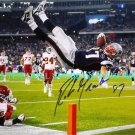 ROB GRONKOWSKI AUTOGRAPHED 8x10 RP PHOTO NEW ENGLAND PATRIOTS