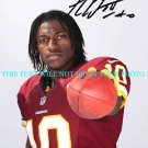 ROBERT GRIFFIN III SIGNED AUTOGRAPHED 8x10 RP PHOTO WASHINGTON REDSKINS AMAZING QB