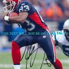 LEE EVANS AUTOGRAPHED 8x10 RP PHOTO LEGENDARY BUFFALO BILLS WR