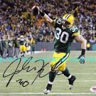 JOHN KUHN AUTOGRAPHED 8x10 RP PHOTO GREEN BAY PACKERS