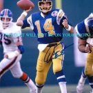DAN FOUTS AUTOGRAPHED 8x10 RP PHOTO SAN DIEGO CHARGERS QB LEGENDARY