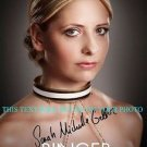 SARAH MICHELLE GELLAR SIGNED AUTOGRAPHED 8x10 RP PROMO PHOTO RINGER