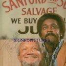 SANFORD AND SON CAST REDD FOXX DEMOND WILSON AUTOGRAPHED 8x10 RP PHOTO