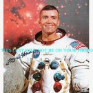 FRED W HAISE AUTOGRAPHED 8x10 RP AUTO PHOTO ASTRONAUT