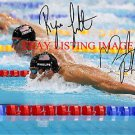 MICHAEL PHELPS AND RYAN LOCHTE SIGNED AUTOGRAPHED 8x10 RP PHOTO OLYMPICS GOLD MEDALISTS