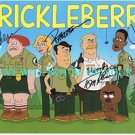 BRICKLEBERRY CAST SIGNED AUTOGRAPHED RP PHOTO BY 5 TOM KENNY JERRY MINOR DAVID HERMAN +