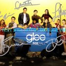 GLEE CAST AUTOGRAPHED 6x9 RP PUBLICITY PHOTO DIANNA AGRON LEA MICHELE CORY +