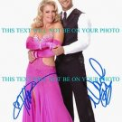 MELISSA JOAN HART AND MARK BALLAS AUTOGRAPHED 8x10 RP PHOTO DANCING COMPETITION