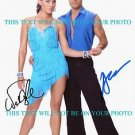 NATALIE COUGHLIN AND ALEC MAZO AUTOGRAPHED 8x10 RP PHOTO DANCING COMPETITION