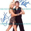CHELSIE HIGHTOWER AND LOUIS VITO AUTOGRAPHED 8x10 RP PHOTO DANCING COMPETITION