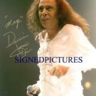 RONNIE JAMES DIO AUTOGRAPHED 8x10 RP PROMO PHOTO ROCK ON MAGIC