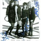 THE BANGLES GROUP AUTOGRAPHED 8x10 RP PROMO PHOTO WALK EGYPTIAN SUSANNE HOFFS +