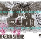 THE GEORGIA SATELLITES AUTOGRAPHED 8x10 RP PUBLICITY PHOTO ALL 4