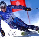 BODE MILLER SIGNED AUTOGRAPHED RP PHOTO OLYMPICS GOLD