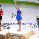 KIM YU-NA MAO ASADA & JOANNIE ROCHETTE SIGNED RP PHOTO