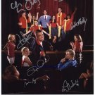 GLEE CAST SIGNED RP PHOTO BY 8 COLFER AGRON LEA CORY +