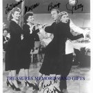 THE ANDREWS SISTERS BING CROSBY SIGNED RP PHOTO PATTY