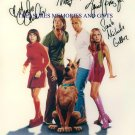 SCOOBY DOO CAST SIGNED RP PHOTO SARAH M GELLAR SHAGGY +
