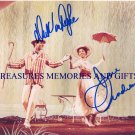 MARY POPPINS SIGNED AUTOGRAPHED 8X10 RP PHOTO JULIE ANDREWS AND DICK VAN DYKE