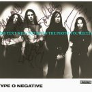 TYPE O NEGATIVE BAND PROMOTIONAL PHOTO PETER STEELE +