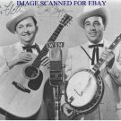 EARL SCRUGGS SIGNED RP PHOTO GREAT COUNTRY FOLK ARTIST BEVERLY HILLBILLIES THEME