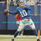 ELI MANNING SIGNED AUTOGRAPHED 8x10 RP PHOTO NY GIANTS QB SUPERBOWL MVP