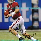 AJ MCCARRON AUTO AUTOGRAPHED 8x10 RP PHOTO ALABAMA HEISMAN CANDIDATE