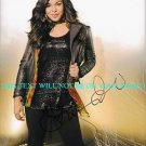 JORDIN SPARKS AUTOGRAPHED 8x10 RP PHOTO BEAUTIFUL SINGER